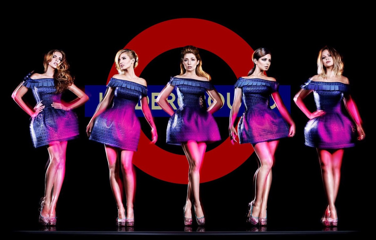Girls Aloud - On the Metro